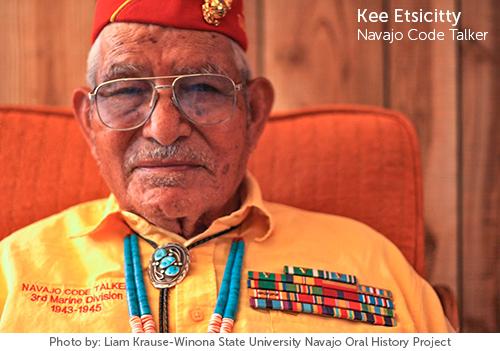 Kee Etsicitty - Navajo Code Talker