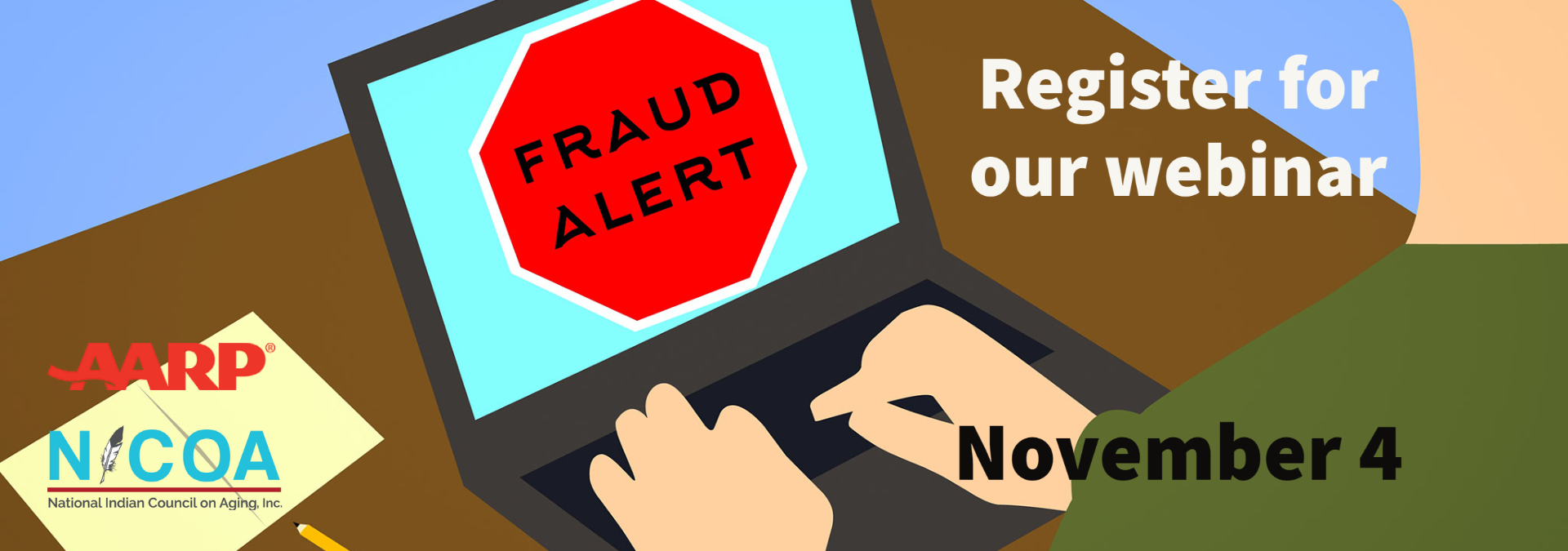 Register Now for The Fraud Landscape: Staying Safe as Scams Soar